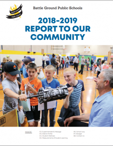 Cover of the 2018-19 Community Report